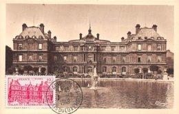 1948 .carte Maximum .france .102235 .palais Du Luxembourg .cachet Paris . - Maximum Cards