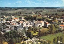 Le PIZOU - Vue Générale Aérienne Du Centre - Eglise - France