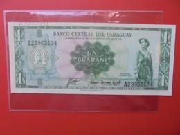 PARAGUAY 1 GUARANI 1952 PEU CIRCULER (B.7) - Paraguay