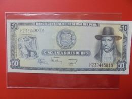 PEROU 50 SOLES 1977 PEU CIRCULER (B.7) - Peru