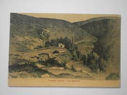 Turquie. Près Ephèse. Panaghia Capouli, Ou Maison De La Sainte Vierge, Vue Générale. Carte Toilée (4464) - Turquie