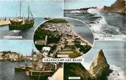 14* GRANDCAMP LES BAINS   Multivues   CPSM(petit Format)               MA94,1106 - France