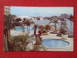 POSTAL POST CARD CARTE POSTALE RIVERSIDE HILTON INN HOTEL ? 200 ASHLEY DRIVE TAMPA FLORIDA USA UNITED STATES VER FOTOS - Tampa