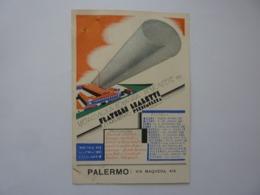 "Cartolina Postale Pubblicitaria ""FRATELLI BIALETTI STABILIMENTO PIEDIMULERA NOVARA"" 1935 - Storia Postale"
