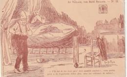 ***  HUMOUR ***  Agriculture --  Au Village Par Billaud  N° 11 - Illustrateur - Other
