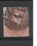 België N° 12 - 1858-1862 Medaillen (9/12)
