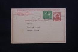 ETATS UNIS - Entier Postal Commerciale + Complément De New York En 1951 Pour La France - L 42247 - 1941-60