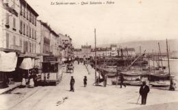 83 LA SEYNE QUAI SATURNIN FABRE ANIMEE TRAMWAY RESTAURANT - La Seyne-sur-Mer