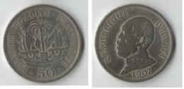 HAITI  50 CENT 1907 - Haïti