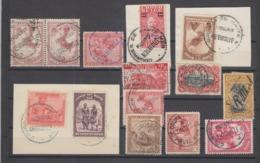 Lot De Timbres Oblitérations Intéressantes Notamment Paquebot à Voir - 1923-44: Usati