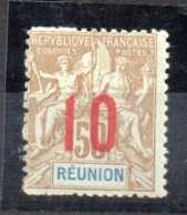 Sello Nº 78  Reunion - La Isla De La Reunion (1852-1975)
