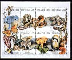 Sierra Leona Serie Nº Yvert 2207/14 ** SETAS (MUSHROOMS) - Sierra Leona (1961-...)