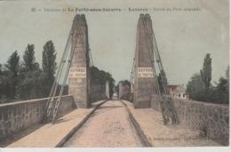 19 / 9 / 196. -  LA  FERTÉ  SOUS  JOUARRE  ( 77 ). LUZANCY   - Entrée Du Pont Suspendu - La Ferte Sous Jouarre