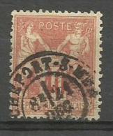 1878 – N°70 Oblitéré - 40 C.rouge-orange - SAGE TYPE I - BON CENTRAGE - V. Image - 1876-1878 Sage (Type I)