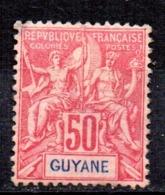Sello Nº 40 Guyane - Nuevos