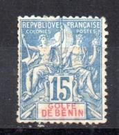 Sello Nº 25 Benin - Benin (1892-1894)
