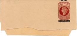 BECHUANALAND. Bande Journal. Half Penny. - Bechuanaland (...-1966)