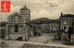 CPA (Hte-Loire) - RIOTORD - Place De L'Église (517027) - Altri Comuni