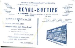 "Ch R B/ Buvard Chaussure ""Royal Bottier"" (Format 25 X 17 ) (N=1) - Chaussures"