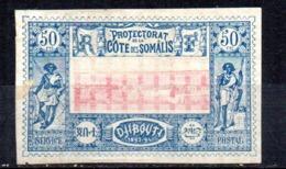 Sello Nº 15  Cote De Somalis - Costa Francesa De Somalia (1894-1967)