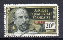 Sello Nº 127 Africa Ecuatorial Francesa.- - A.E.F. (1936-1958)