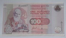 Scotland UK 100 Pounds 1996 XF - [ 3] Escocia