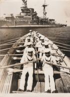 Battleship Ramilles As Training Ship - Guerra, Militari