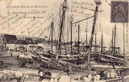 1644/ St Pierre Et Miquelon, Saint Pierre, Quai Du Commerce 1905 - Saint-Pierre-et-Miquelon