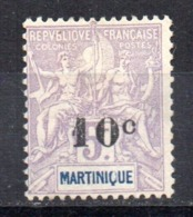 Sello Nº 53 Martinica - Martinica (1886-1947)