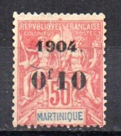 Sello Nº 56  Martinica - Martinica (1886-1947)