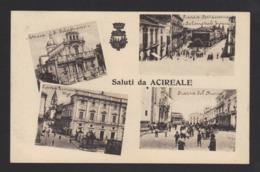 16510 Acireale - Chiesa San Sebastiano - Piazza Portacosmana E Palazzo Cali Fiorini - Piazza Leonardo Vigo - Piazza Del - Acireale