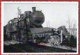 CP Trains - Déraillement De NOZIERES - 20 Photos Perso - France