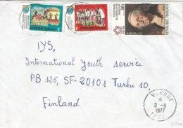 Togo 1977 Sokode George Washington American Independence Cover - George Washington