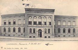 Poland - LEBORK - Gymnasium - Publ. Trenkler. - Polen
