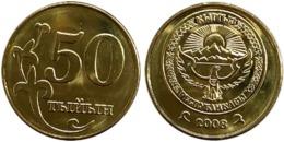 25 Pieces Kyrgyzstan - 50 Tyiyin 2008 UNC Bag - Aserbaidschan