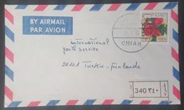BL271 - Lebanon 1973 CHIAH Registered Airmail Cover - Lebanon