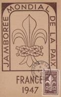 FRANCE - Carte-Maximum - Jamboree De La Paix - Cartes-Maximum