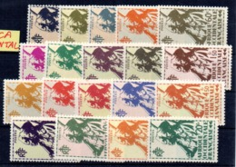 Serie Nº 4/22 Africa Occidental Francesa - Nuevos