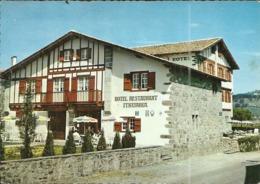 ( AINHOA )( 64 ) HOTEL ITHURRIA . LOGIS BASQUE DU 17e S - Ainhoa