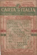 12657-T.C.I-CATANZARO-SCALA 1:250.000-1938 - Carte Geographique