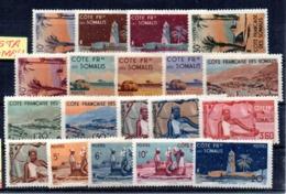 Serie Nº 264/82  Cote De Somalis - Nuevos
