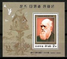 Korea North 1999 Corea / Charles Darwin MNH / Cu13022  34-23 - Sin Clasificación