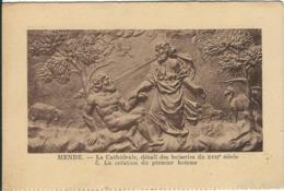 Lozere : Mende, La Cathédrale, Détail Des Boiseries... - Mende