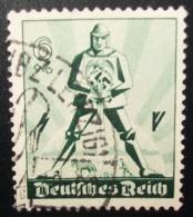 N°149E TIMBRE DEUTSCHES REICH OBLITERE - Usati