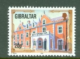 Gibraltar: 1993/95   Architectural Heritage     SG700a    20p      MNH - Gibilterra