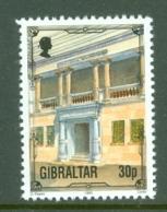 Gibraltar: 1993/95   Architectural Heritage     SG704a    30p      MNH - Gibraltar