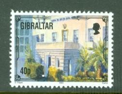 Gibraltar: 1993/95   Architectural Heritage     SG704b    40p      MNH - Gibraltar