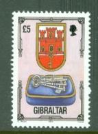 Gibraltar: 1993/95   Architectural Heritage     SG708    £5      MNH - Gibilterra