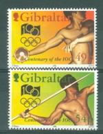 Gibraltar: 1994   Centenary Of International Olympic Committee   MNH - Gibilterra