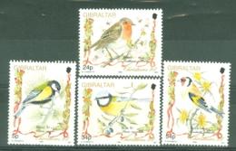 Gibraltar: 1994   Christmas - Songbirds   MNH - Gibilterra